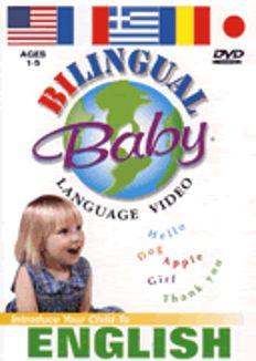 Bilingual Baby: English