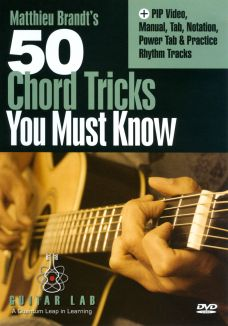Matthieu Brandt's 50 Chord Tricks You Must Know