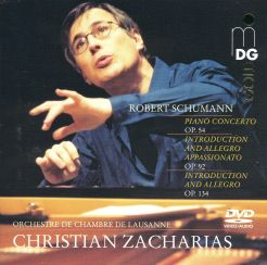 Schumann: Piano Concerto Op. 54, Introductions and Allegros
