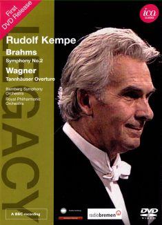 Rudolf Kempe: Brahms - Symphony No. 2/Wagner - Tännhauser Overture