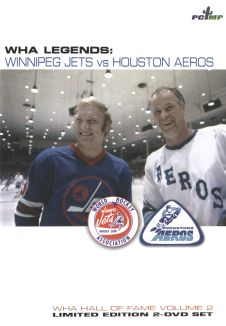 WHA Legends: Winnipeg Jets vs Houston Aeros - World Hockey Association Hall of Fame - Volume 2