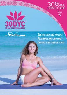Dashama Konah Gordon: 30 Day Yoga Challenge - Disc 10