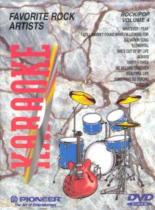Karaoke: Rock/Pop Hits, Vol. 4 - Favorite Rock Artists