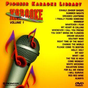 Pioneer Karaoke Library, Vol. 1
