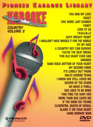 Pioneer Karaoke Library: Country, Vol. 2