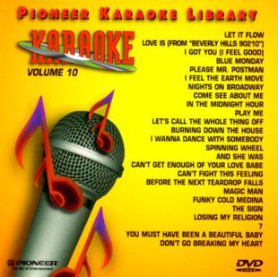 Pioneer Karaoke Library, Vol. 10
