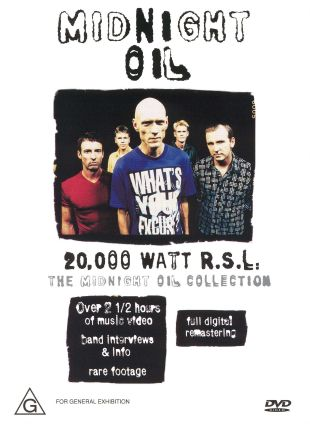 Midnight Oil: 20,000 Watts R.L.S. - The Midnight Oil Collection