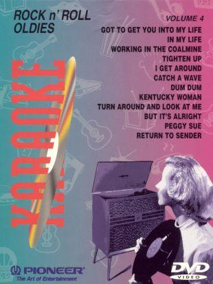 Karaoke: Rock n' Roll Oldies, Vol. 4