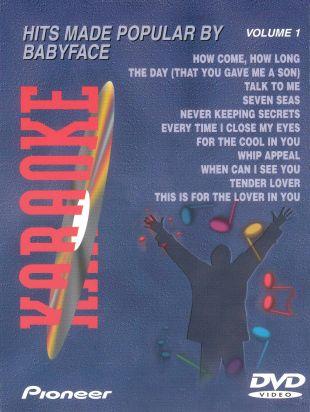 Karaoke: Hits Made Popular By Babyface, Vol. 1