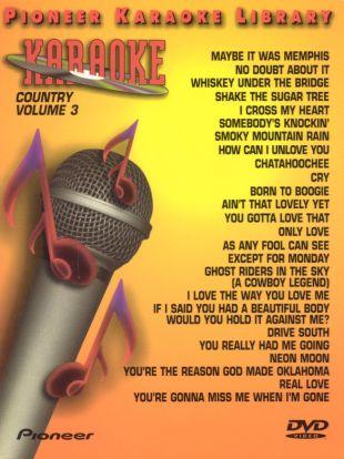 Pioneer Karaoke Library: Country, Vol. 3