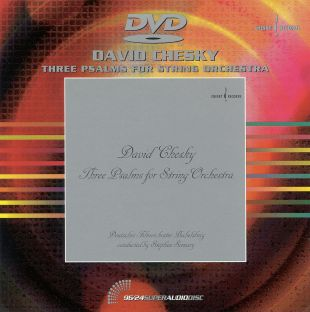 David Chesky: 3 Psalms For String Orchestra