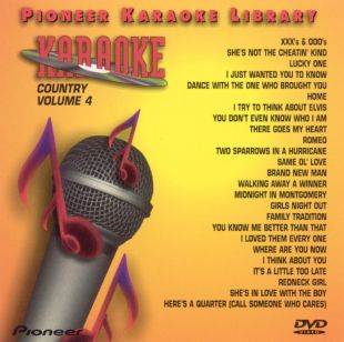 Pioneer Karaoke Library: Country, Vol. 4
