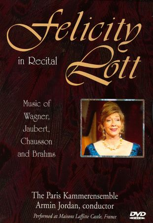 Felicity Lott: In Recital
