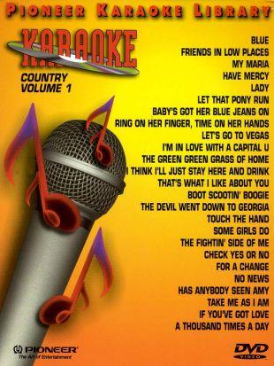 Pioneer Karaoke Library: Country, Vol. 1