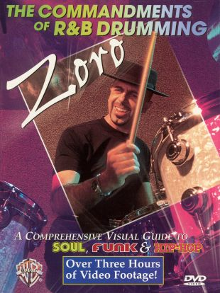 Zoro: The Commandments of R&B Drumming