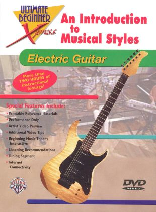 Ultimate Beginner Xpress: An Introduction to Musical Styles - For Electric Guitar