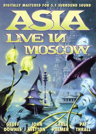 Asia: Live in Moscow, 1990