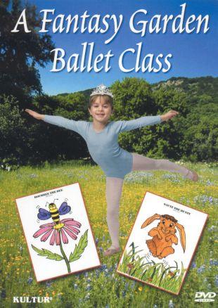 A Fantasy Garden Ballet Class