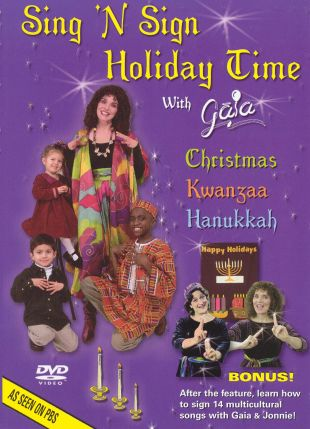 Sing 'N Sign Holiday Time with Gaia