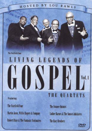 Living Legends of Gospel: Quartets, Vol. 1