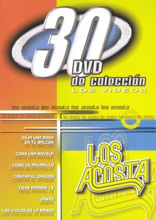 Los Acosta: 30 DVD De Coleccion