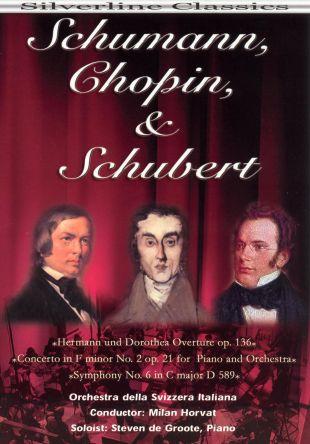 Orchestra della Svizzera Italiana: Schumann, Chopin & Schubert