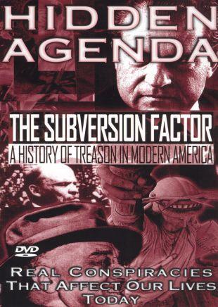 Hidden Agenda, Vol. 2: The Subversion Factor