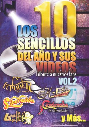Los 10 Sencillos del Año y Sus Videos, Vol. 2