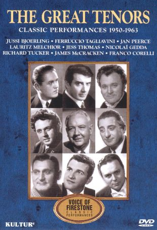 Voice of Firestone: The Great Tenors - Classic Performances, 1950-1963