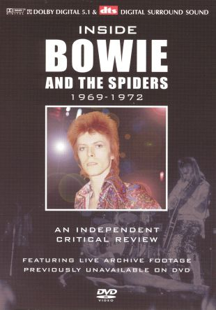 Inside David Bowie and the Spiders: An Independant Critical Review - 1969-1972