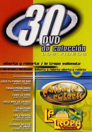 30 DVD de colección: Alberto y Roberto/La Tropa Vallenata