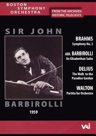Boston Symphony Orchestra: Sir John Barbirolli