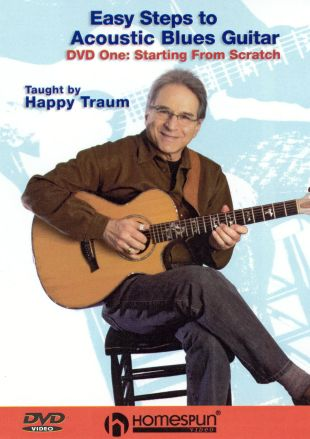 Happy Traum: Easy Steps to Acoustic Blues Guitar, Vol. 1