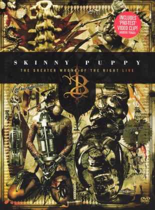 Skinny Puppy: The Greater Wrong of the Right, Live