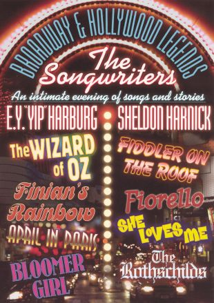 Broadway & Hollywood Legends: The Songwriters - Yip Harburg/Sheldon Harrick