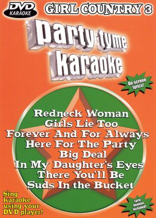 Party Tyme Karaoke: Girl Country, Vol. 3