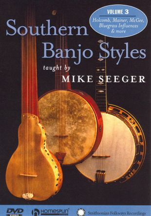 Mike Seeger: Southern Banjo Styles, Vol. 3