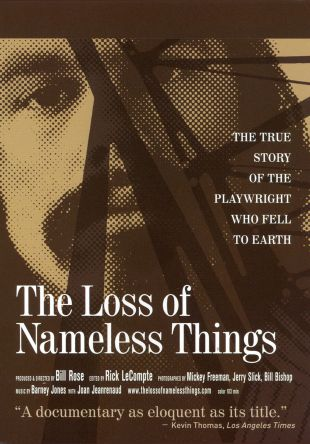 The Loss of Nameless Things