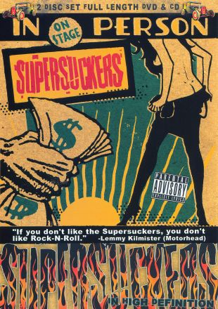 Supersuckers: From the Audio and Video Dept.... Live in Anaheim
