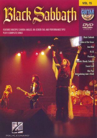 Guitar Play-Along, Vol. 15: Black Sabbath