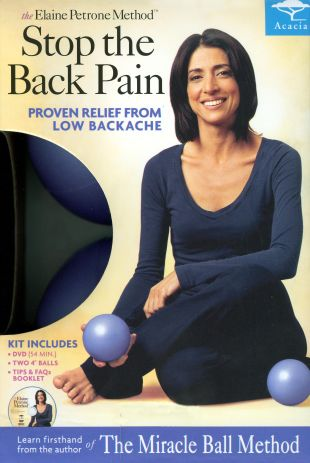 The Elaine Petrone Method: Stop the Back Pain