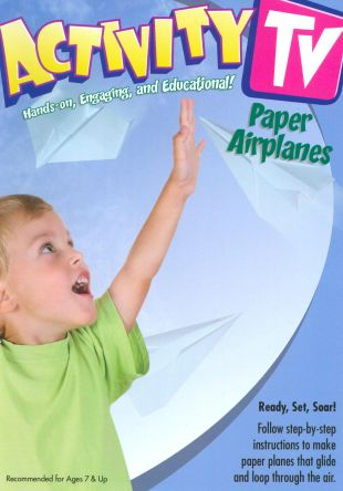 Activity TV: Paper Airplanes