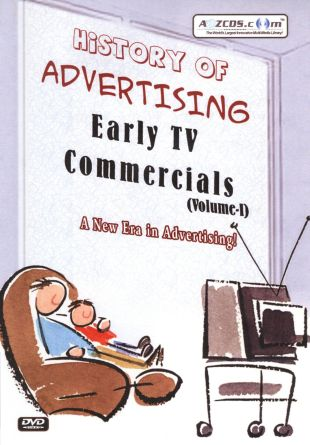 History of Advertising: Early TV Commercials, Vol. 1