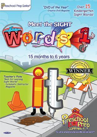 Preschool Prep Series: Meet the Sight Words, Vol. 1