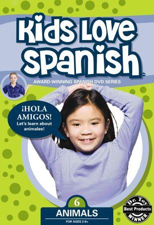 Kids Love Spanish, Vol. 6: Animals