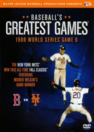 MLB's 20 Greatest Games : 1986: Red Sox at Mets