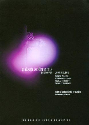 John Nelson: Beethoven - Missa Solemnis