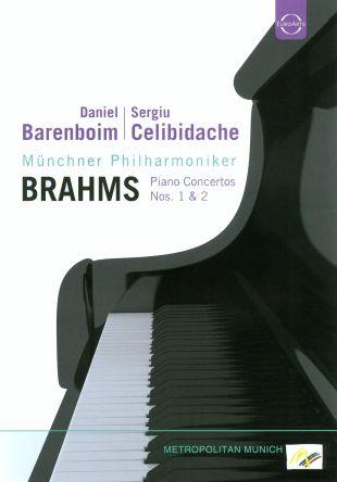 Daniel Barenboim/Sergiu Celibidache: Brahms - Piano Concertos Nos. 1 & 2