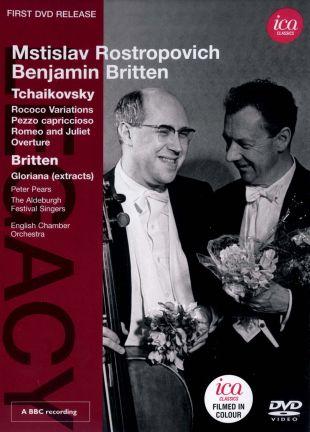 Mstislav Rostropovich/Benjamin Britten: Tchaikovsky/Britten