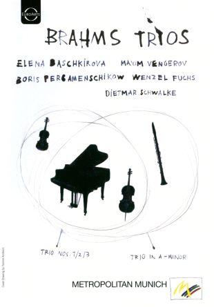 Elena Baschkirova/Maxim Vengerov/Boris Pergamenschikow/Dietmar Schwalke/Wenzel Fuchs: Brahms Trios